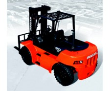 Large Capacity, Dual Tyre Forklifts – Diesel Powered
