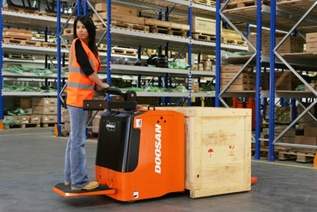 Powered Pallet Truck – Ride On
