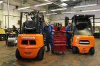 Refurbished Doosan forklifts