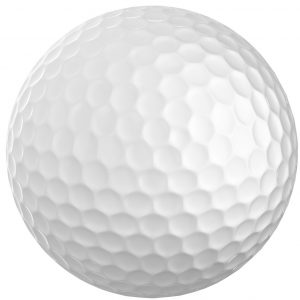 white-golf-ball