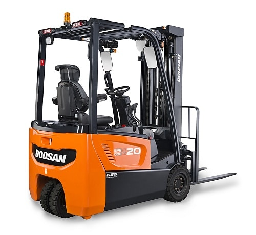 Doosan begins production of brand new electric forklift truck range