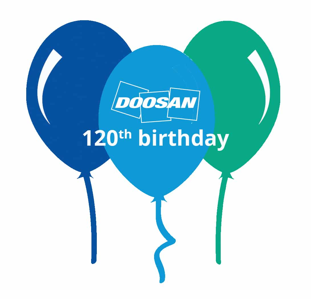 Doosan celebrates 120 years!