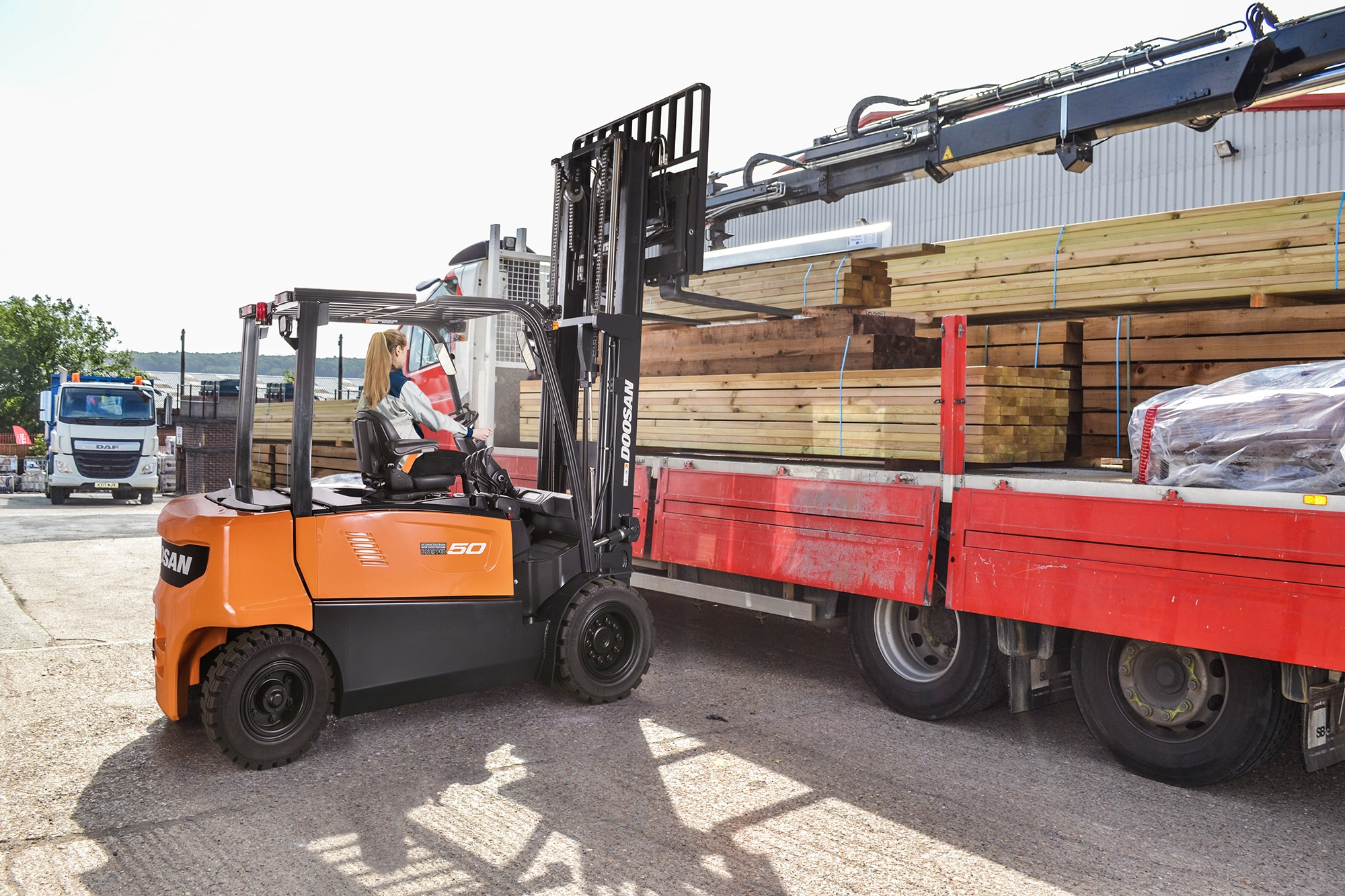 5.0 tonne electric forklift