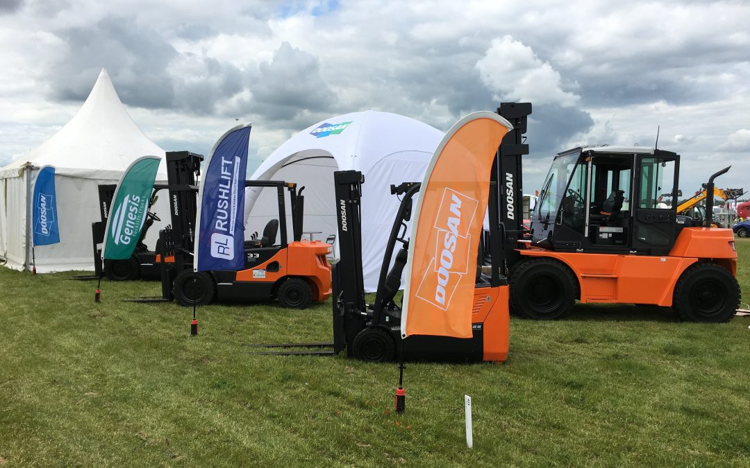 Doosan leads the field at Cereals 2019