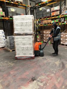Doosan BPSC15E-7 Lightweight Powered Pallet Truck