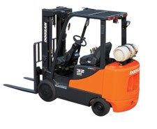 Compact Forklifts – LPG Powered