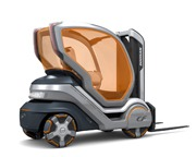 Doosan Concept Forklift - winner of the Red Dot Design Award