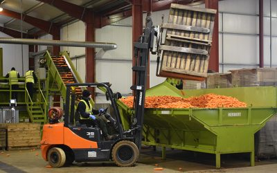 Reap the rewards with Doosan – an introduction to produce growers.