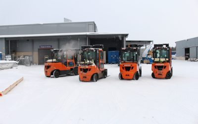 Beat the Freeze – Preparing your Forklift for Winter
