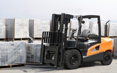 Doosan Launches Powerful 9-Series Forklifts