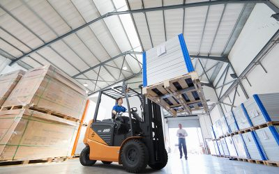 Doosan Launch Value NXE Series Electric Forklifts